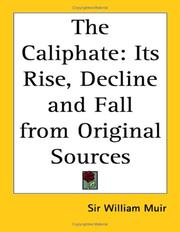 Cover of: The Caliphate