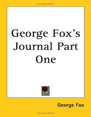 George Foxs Journal Part One
