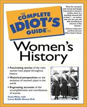 Cover of: The complete idiot's guide to women's history