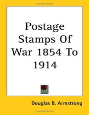 Cover of: Postage Stamps of War 1854 to 1914