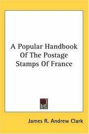 Cover of: A Popular Handbook of the Postage Stamps of France