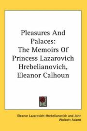 Cover of: Pleasures And Palaces