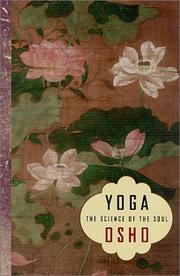 Cover of: Yoga : the science of the soul