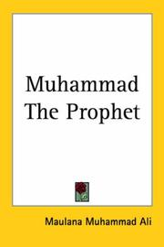 Cover of: Muhammad the prophet