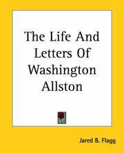 Cover of: The Life And Letters of Washington Allston