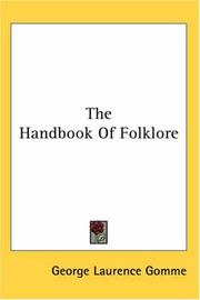 Cover of: The Handbook Of Folklore