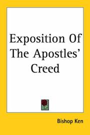 Cover of: Exposition Of The Apostles' Creed