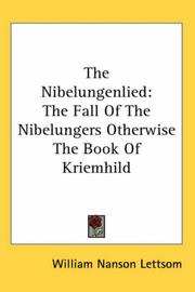 Cover of: The Nibelungenlied