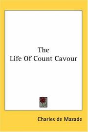 Cover of: The Life of Count Cavour