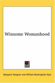Cover of: Winsome Womanhood