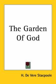 Cover of: The Garden of God