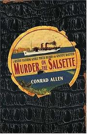 Cover of: Murder on the Salsette | Conrad Allen