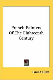 Cover of: French Painters Of The Eighteenth Century