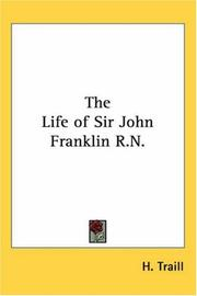 Cover of: The Life of Sir John Franklin R.n