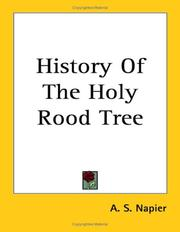 Cover of: The History Of The Holy Rood Tree