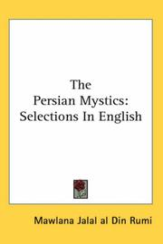 Cover of: The Persian Mystics