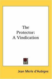 Cover of: The Protector