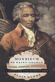 Cover of: Monsieur de Saint-George