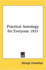 Cover of: Practical Astrology for Everyone 1931