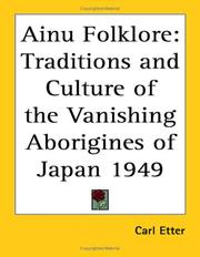 Cover of: Ainu Folklore