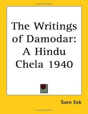 Cover of: The Writings of Damodar | Sven Eek