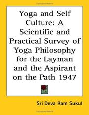 Cover of: Yoga and Self Culture