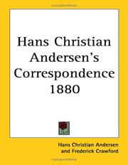 Cover of: Hans Christian Andersen