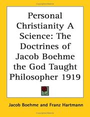 Cover of: Personal Christianity A Science