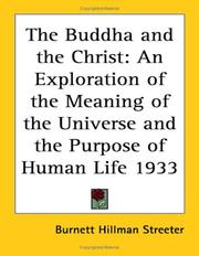 Cover of: The Buddha and the Christ