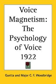 Cover of: Voice Magnetism | Quetta
