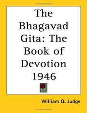 Bhagavad-Gita by William Quan Judge