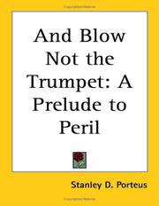 Cover of: And Blow Not the Trumpet