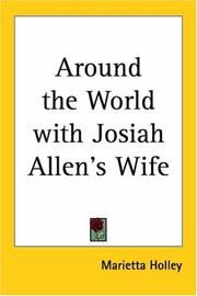 Cover of: Around the World With Josiah Allen
