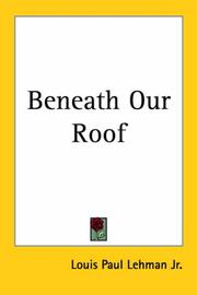 Cover of: Beneath Our Roof