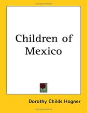 Cover of: Children of Mexico