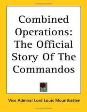 Cover of: Combined Operations | Vice Admiral Lord Louis Mountbatten