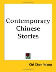 Cover of: Contemporary Chinese Stories | Chi-Chen Wang