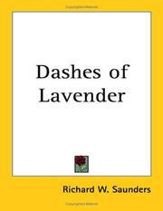 Cover of: Dashes of Lavender