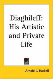 Cover of: Diaghileff