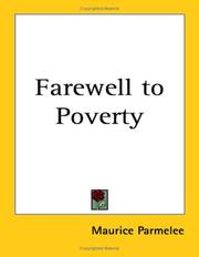 Cover of: Farewell to Poverty | Maurice Parmelee