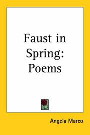 Cover of: Faust in Spring