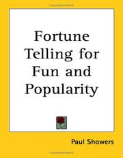 Fortune Telling for Fun and Popularity by Paul Showers