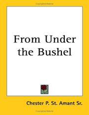 Cover of: From Under the Bushel