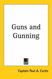 Cover of: Guns and Gunning