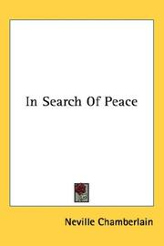 Cover of: In Search Of Peace