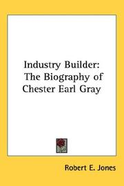 Cover of: Industry Builder | Robert E. Jones