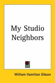 Cover of: My Studio Neighbors | William Hamilton Gibson