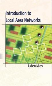 Cover of: Introduction To Local Area Networks