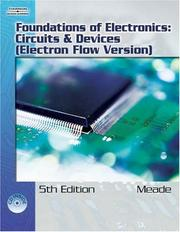 Cover of: Foundations of electonics