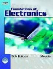 Cover of: Foundations of electronics